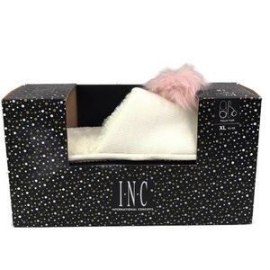 INC International Concepts Womens Ivory Pink Mule